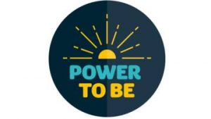 Logo of CAFOD's Power to Be campaign