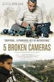 five broken cameras DVD cover