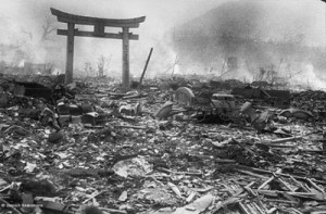 photo of nagasaki devastation