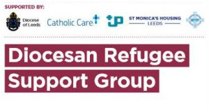 logo for diocese of leeds refugee support group