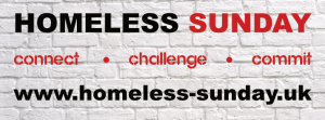 logo for Homeless Sunday