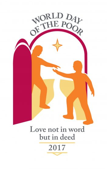 World Day of the poor logo