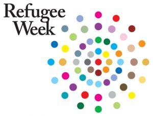 logo for refugee week
