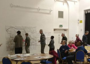people adding actions to a map