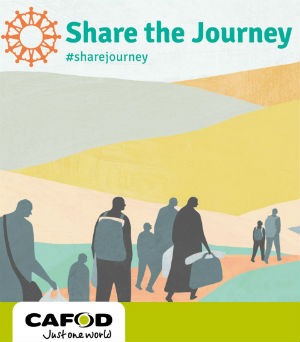 Share the journey image and logo