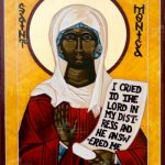 icon of St Monica