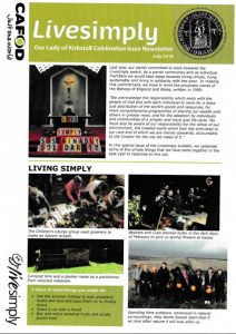 Live Simply newsletter cover