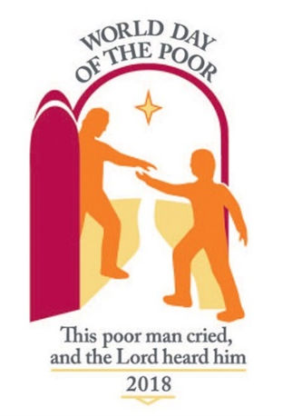 World Day of the Poor 2018 logo