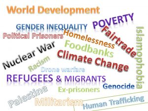 wordmap of social justice issues