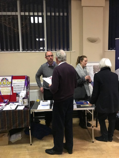 CHAS @ SVP stall at meeting