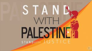 meme saying stand with Palestine