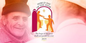 logo for the World day of the poor 2019