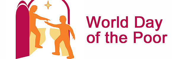 logo for World Day of the Poor