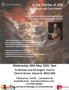 In the Eye of the Storm - An evening with Garth Hewitt @ St Michael & All Angels' Church